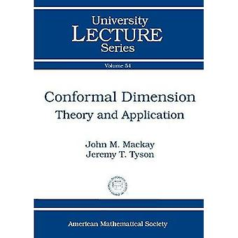 Conformal Dimension - Theory and Application by Klaus Thomsen - John M