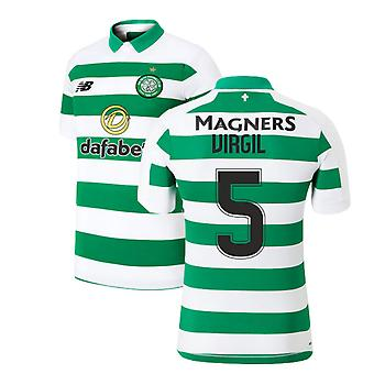 2019-2020 Celtic Home shirt (Virgil 5)