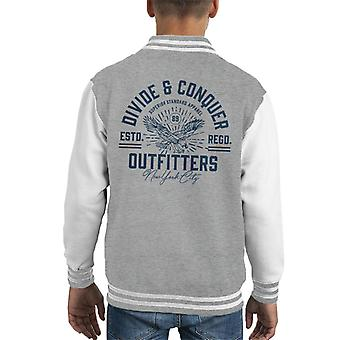 Opdel & Conquer Outfitters New York kid ' s varsity jakke