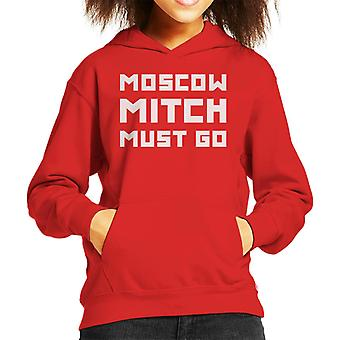 Mosco Mitch Must Go Kid's Hooded Sweatshirt