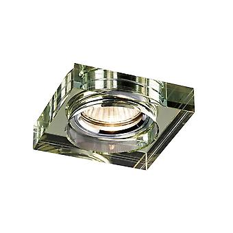 Diyas Crystal Downlight Deep Square Rim Only White Wine, IL30800 Required To Complete The Item