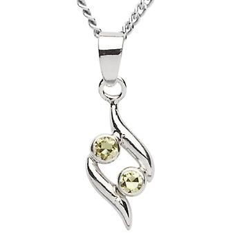 InCollections 2420200036401 - Chain with children's pendant with cubic zirconia - silver sterling 925