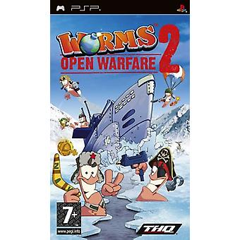 Worms open Warfare 2 (PSP)-nieuw