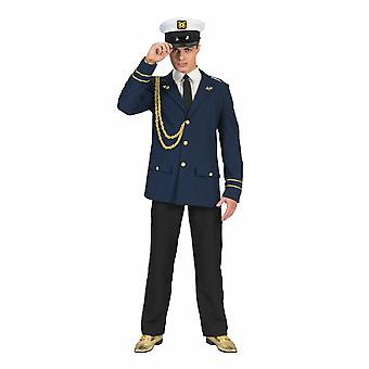 Captain Fietje Sailor Costume Ship Man Marine Hommes Costume