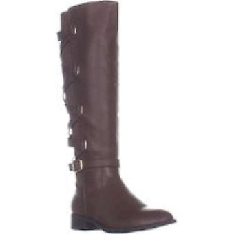 Charter Club Womens Helenn2 Fabric Closed Toe Mid-Calf Fashion Boots