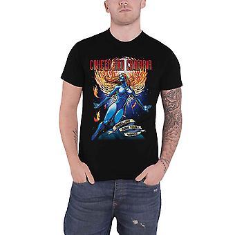 Coheed & Cambria T Shirt Ambelina Band Logo new Official Mens Black