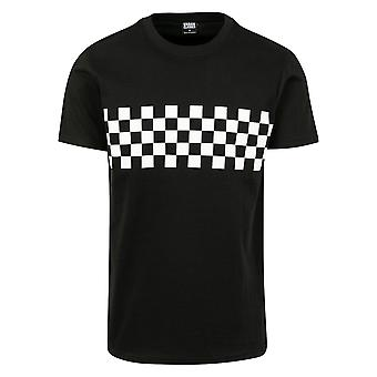 Urban Classics Men's T-Shirt Check Panel