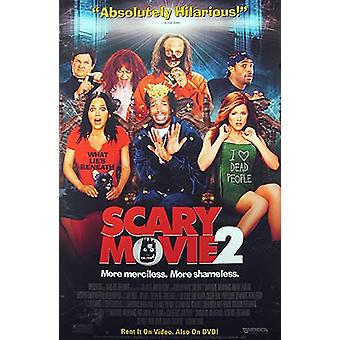 Scary Movie 2 (video) alkuperäinen video/DVD-mainos juliste
