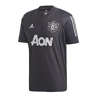 2019-2020 Man Utd Adidas EU Training Shirt (Carbon)