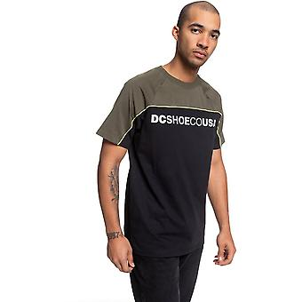 DC Brookledge Short Sleeve T-Shirt in Black