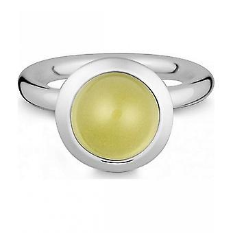 Quinn - Silver ring with lemon quartz - 021839648