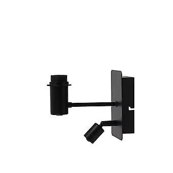 Light & Living Wall Lamp 11X20X18 Cm Montana Matted Black