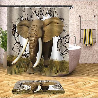 Elephant rupe drumul spre libertatea 2 cortina de duș