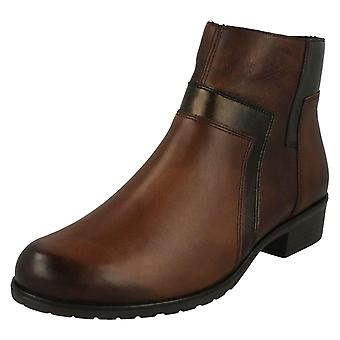 Ladies Remonte Warm Lined Ankle Boots D6879