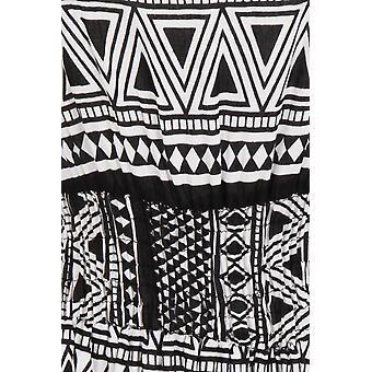 Pistachio Women's Aztec Print Long Maxi Summer Dress