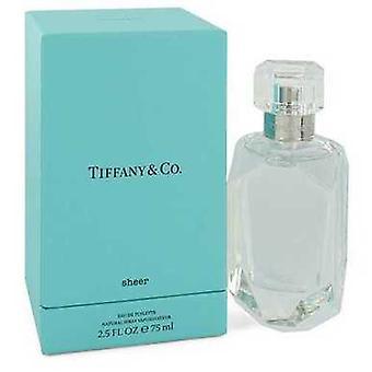 Tiffany Sheer By Tiffany Eau De Toilette Spray 2.5 Oz (women) V728-547888