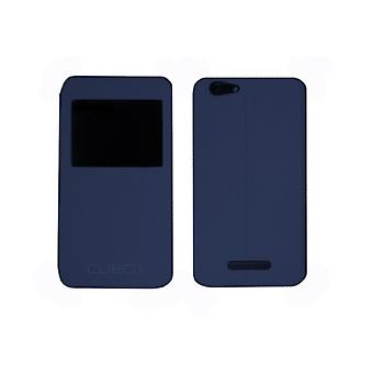 Protection for mobile phone Cubot CUB - Pat - NOTES blue