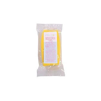 Kuchen Stern gelb Modellierpaste