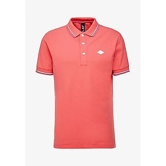 Replay Cotton Pink Polo Shirt