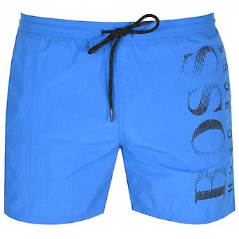 Hugo Boss Octopus Swim Shorts Mid Blue 431 50371268