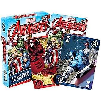 Marvel - avengers comics playing cards