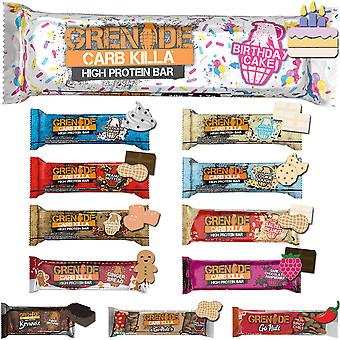 Grenade Carb Killa High Protein Bar - 12 Bars
