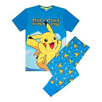 Pokemon Pikachu Kid's Lange Pyjamas