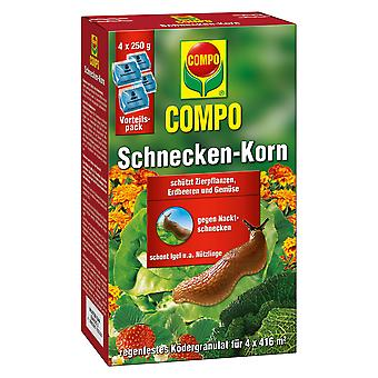 COMPO screw grain, 4 x 250 g