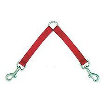 Freedog Red Duo Nylon handle for your pet (Dogs , Collars, Leads and Harnesses , Leads)