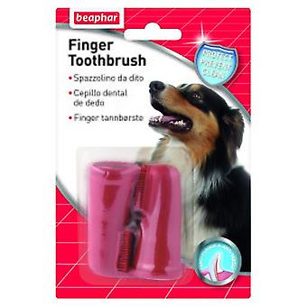 Beaphar Finger Toothbrush (Dogs , Grooming & Wellbeing , Dental Hygiene)