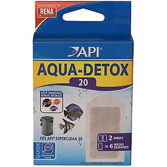 API Aqua Detox Superclean20 X2 (Fish , Filters & Water Pumps , Filter Sponge/Foam)