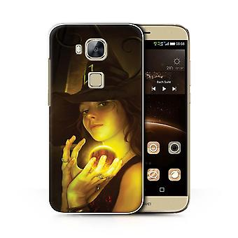 STUFF4 Case/Cover for Huawei G8/Power Orb/Witchcraft/Dark Magic