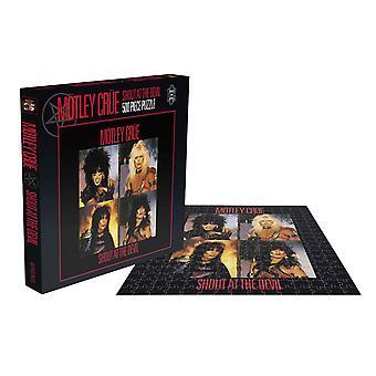 Motley Crue Puzzel Shout Op The Devil Album Cover nieuwe officiële 500 Stuk