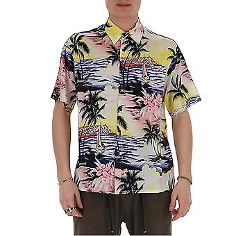 Laneus 4792cc11var1 Men's Multicolor Cotton Shirt