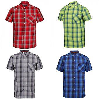 Regatta Mens Kalambo IV lyhythihainen ruudullinen paita