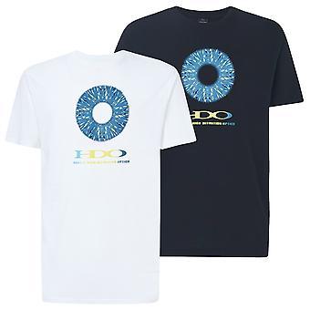 Oakley Mens High Definition Optics Korte Mouw Grafische Katoen T-Shirt