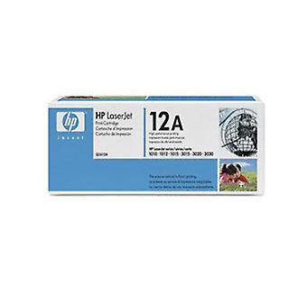 Hp 12A Black Toner 2000 Page Yield