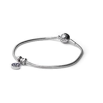 PANDORA ME stříbrný hadí řetízek a šarm-sada dárků B801240 velikost 18