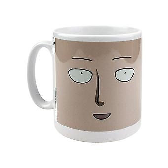 One Punch Man, mug-Saitamas face