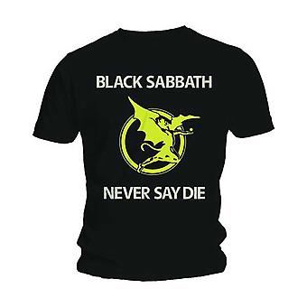 Black Sabbath Never Say Die T-Shirt officiel de tee-shirt