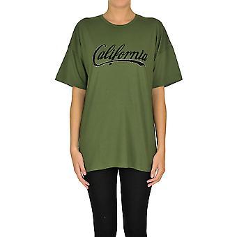 N°21 Ezgl068179 Women's Green Cotton T-shirt