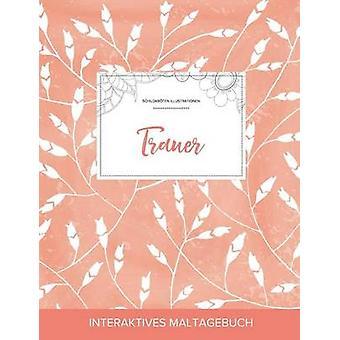 Maltagebuch fr Erwachsene Trauer Schildkrten Illustrationen Pfirsichfarbene Mohnblumen by Wegner & Courtney