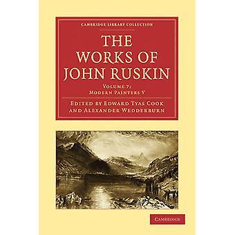 John Ruskinin teokset - 9781108008556 Kirja