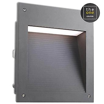 Leds-C4 Micenas - Outdoor LED Einbauwand licht micenas LED Urban Grey 25cm 1862lm 3000K IP65 - 05-9885-Z5-CL