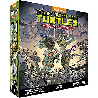 Teenage Mutant Ninja Turtles Change est constant jeu de société