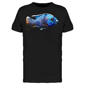 Afrikanische Pfau Cichlid Fisch Tee Men's -Bild von Shutterstock