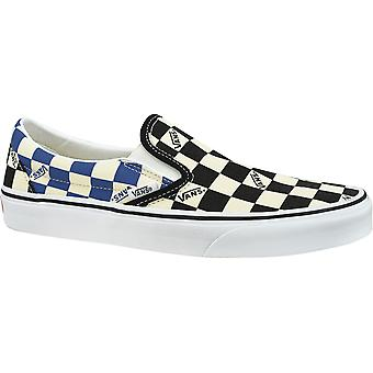 Vans Classic Slip-On Big Check VN0A4U38WRT Mens plimsolls