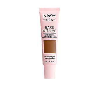 Nyx Professional Make Up Bare With Me Voile teinté #deep Sable 27 Ml Pour Femme