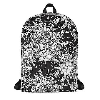 Backpack | b&w doodles