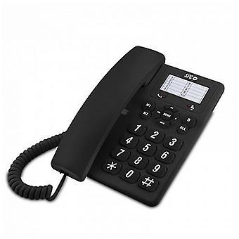 Telefon stacjonarny SPC 3602 RJ11 DECT/Czarny
